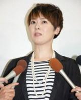 離婚会見を行った遠野なぎこ (C)ORICON NewS inc.
