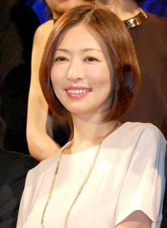 ドラマ『家族狩り』制作発表会に出席した主演の松雪泰子 (C)ORICON NewS inc.