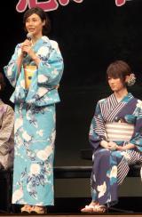 (左から)松嶋菜々子、高月彩良 (C)ORICON NewS inc.