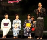映画『思い出のマーニー』完成披露記者会見に出席した(左から)黒木瞳、森山良子、プリシラ・アーン、西村義明P (C)ORICON NewS inc.