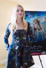 まさにハマリ役! 映画『マレフィセント』オーロラ姫を演じるエル・ファニング。覚えておいて損はない、ハリウッドでもっとも期待される若手女優の一人 (C)ORICON NewS inc.