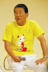 『24時間テレビ37 愛は地球を救う』制作発表会見に出席した徳光和夫 (C)ORICON NewS inc.