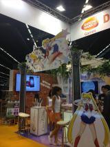 仏パリで開催された『JAPAN EXPO2014』=「バンダイナムコゲームス」ブース