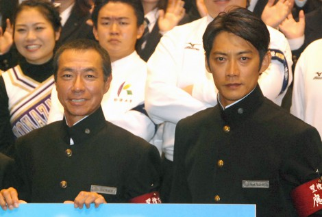 ドラマ『あすなろ三三七拍子』で初共演する(左から)柳葉敏郎、反町隆史 (C)ORICON NewS inc.