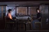 『母に欲す』舞台写真(左から)池松壮亮、峯田和伸