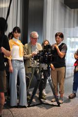佐々木希の主演映画『縁(えにし)』 東京で行われた撮影の様子