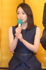 2015年NHK大河ドラマ『花燃ゆ』で主演を務める井上真央 (C)ORICON NewS inc.