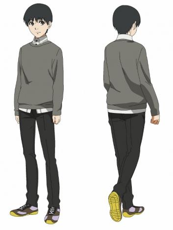 アニメ『東京喰種トーキョーグール』 キャラ設定画 金木研(CV花江