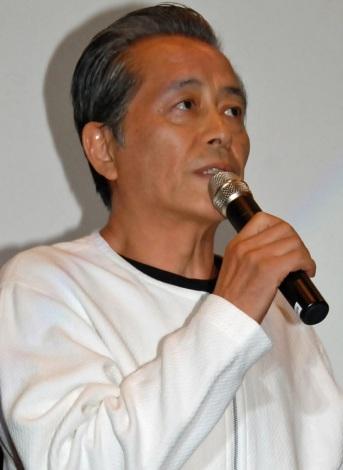 映画『太秦ライムライト』初日舞台あいさつを行った本田博太郎 (C)ORICON NewS inc.