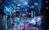 3Dプロジェクションマッピング『ナイトアクアリウム』イメージ