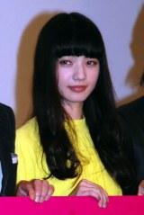 映画『渇き。』大ヒット舞台あいさつに出席した小松菜奈。疾走した娘を熱演した (C)ORICON NewS inc.