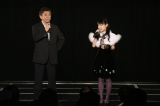 5回目の『リクエストアワー』開催を発表した今村悦朗劇場支配人、佐藤実絵子(C)AKS