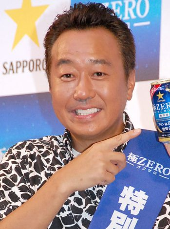 『サッポロ 極ZERO』再発売決起イベントに出席したさまぁ〜ず・三村マサカズ (C)ORICON NewS inc.