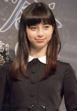 映画『劇場版 零〜ゼロ〜』で主演を務める中条あやみ (C)ORICON NewS inc.