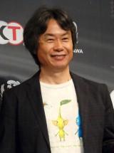 宮本茂氏(任天堂取締役専務)=ホラーゲーム『零』最新作&メディアミックス発表会 (C)ORICON NewS inc.