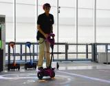 1人乗り二輪車「ウィングレット」が体験できる初のアトラクション『ウィングレットチャンレンジ』 (C)oricon ME inc.