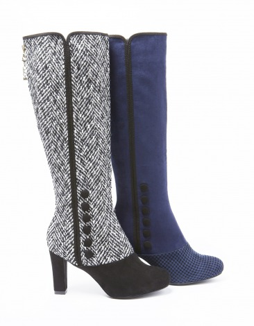 『Barbie RANDA mix pattern long boots』13,200円(9月19日発売) (c) 2014 Mattel, Inc. All Rights Reserved.