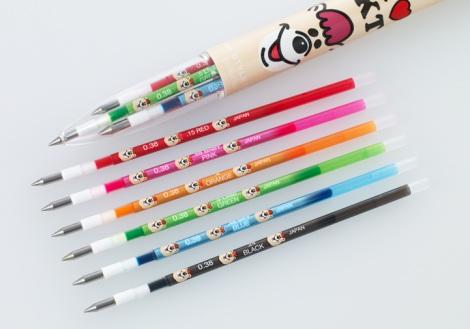 サムネイル リフィルまで「クマタン」づくしのキュートなデザインペンが発売!