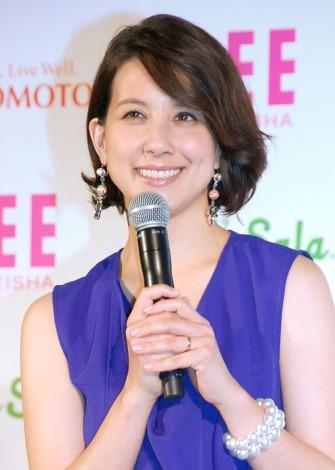 『LEE×トスサラ』全国発売記念発表会&体験会に出席した政井マヤ (C)ORICON NewS inc.