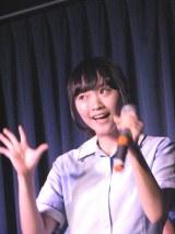 昨年、雑誌『月刊デ☆ビュー』の募集を見て応募し、メンバー入りした木梨夏菜(16)。(C)De-View