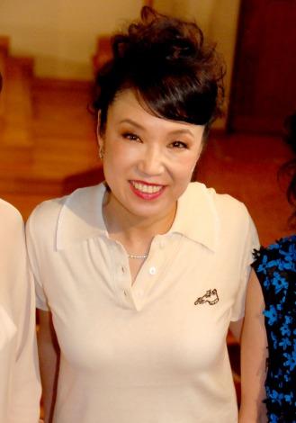 帝国劇場10月公演『ユーミン×帝劇第2弾Yuming Songs…「あなたがいたから私がいた」』製作発表会に出席した松任谷由実 (C)ORICON NewS inc.