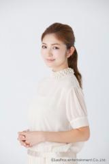 第1子を出産した宇井愛美 (C)LesPros Entertainment Co., Ltd.