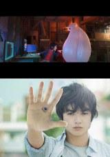 (上から)『第27回東京国際映画祭』オープニング作品『ベイマックス』(本邦初公開新ビジュアル)、クロージング作品の『寄生獣』(C)2014 Disney. All Rights Reserved.(C)映画『寄生獣』製作委員会
