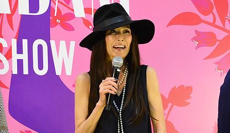 サムネイル 「The Madam Show 2014 A/W」制作発表会に出席した女優の萬田久子 (C)oricon ME inc.