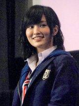 映画『げいにん!THE MOVIE リターンズ 卒業!お笑い青春ガールズ!!新たなる旅立ち』の初日舞台あいさつに登壇したNMB48・山本彩 (C)ORICON NewS inc.