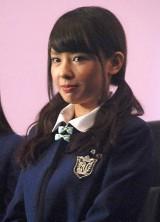 映画『げいにん!THE MOVIE リターンズ 卒業!お笑い青春ガールズ!!新たなる旅立ち』の初日舞台あいさつに登壇したNMB48・山田菜々 (C)ORICON NewS inc.