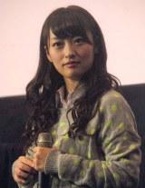 映画『げいにん!THE MOVIE リターンズ 卒業!お笑い青春ガールズ!!新たなる旅立ち』の初日舞台あいさつに登壇したNMB48・小谷里歩 (C)ORICON NewS inc.