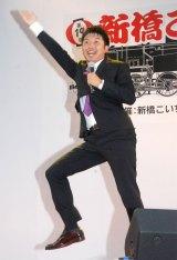 アナサー男子三人衆の藤田大介アナ=『第19回 新橋こいち祭』 (C)ORICON NewS inc.