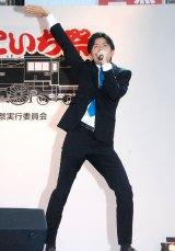 アナサー男子三人衆の青木源太アナ=『第19回 新橋こいち祭』 (C)ORICON NewS inc.