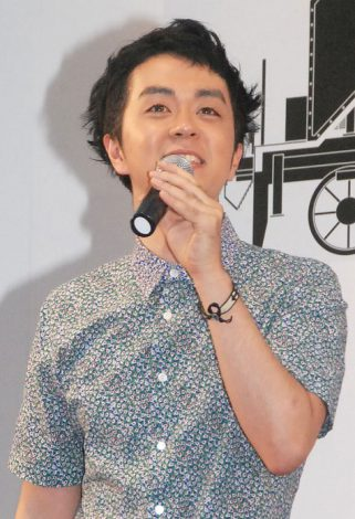 アナサー男子三人衆のプロデューサー・ヒャダイン=『第19回 新橋こいち祭』 (C)ORICON NewS inc.