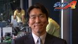 新CMで野球少年たちにメッセージを送る松井秀喜氏(C)テレビ東京