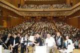 コンサートで集まった義援金を福島大に寄付したスターダスト☆レビュー