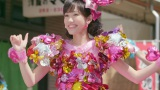 念願の総選挙選抜シングルのセンターを務める渡辺麻友(AKB48の37th「心のプラカード」MVより)