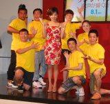 映画『サンシャイン/歌声が響く街』のフラッシュモブイベントに出席した高橋真麻 (C)ORICON NewS inc.