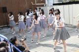 地元名古屋の円頓寺商店街でサプライズライブを行ったSKE48