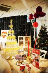 Francfrancクリスマスコレクションで飾られた店内の様子 (C)oricon ME inc.