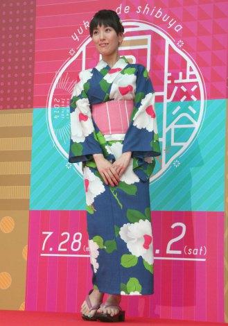 780afadf94d 画像・写真 | 最新トレンド浴衣が集結 渋谷ゆかたコレクション 6枚目 ...