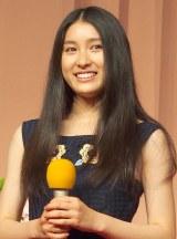 平成27年度前期放送NHKの朝ドラ「まれ」のヒロインに決定した土屋太鳳 (C)ORICON NewS inc.