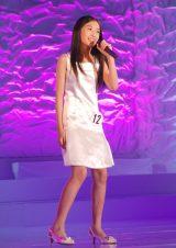 石川県出身の中学1年生・尾山ひなたさん(12)=『全日本国民的美少女コンテスト』最終審査の模様