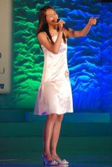 ハワイ出身の高校2年生・菊川リサさん(16)=『全日本国民的美少女コンテスト』最終審査の模様