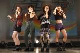 アニメ『ポケットモンスター XY』のエンディングテーマを担当している中学生4人組「J☆Dee'Z」が9月24日にメジャーデビュー決定(左からMOMOKA、Nono、Meik、ami)