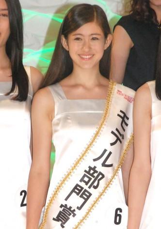 北海道出身の中学3年生・ルービナー マヤさん(14)=『全日本国民的美少女コンテスト』 (C)ORICON NewS inc.