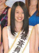 大阪府出身の高校1年生・藤江萌さん(ふじえ・もえ 16)=『全日本国民的美少女コンテスト』 (C)ORICON NewS inc.