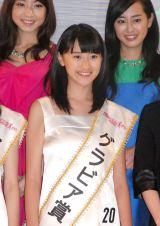 愛知県出身の中学1年生・犬塚しおりさん(12)=『全日本国民的美少女コンテスト』 (C)ORICON NewS inc.