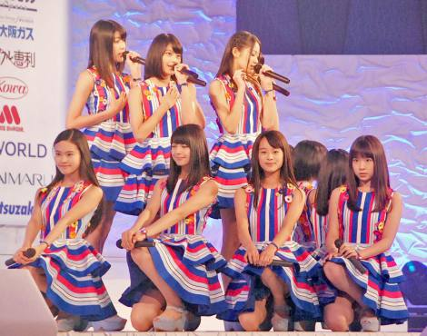 『全日本国民的美少女コンテスト』でライブを行ったX21 (C)ORICON NewS inc.