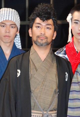 舞台『テングメン』記者会見に登壇したやるせなす・石井康太 (C)ORICON NewS inc.